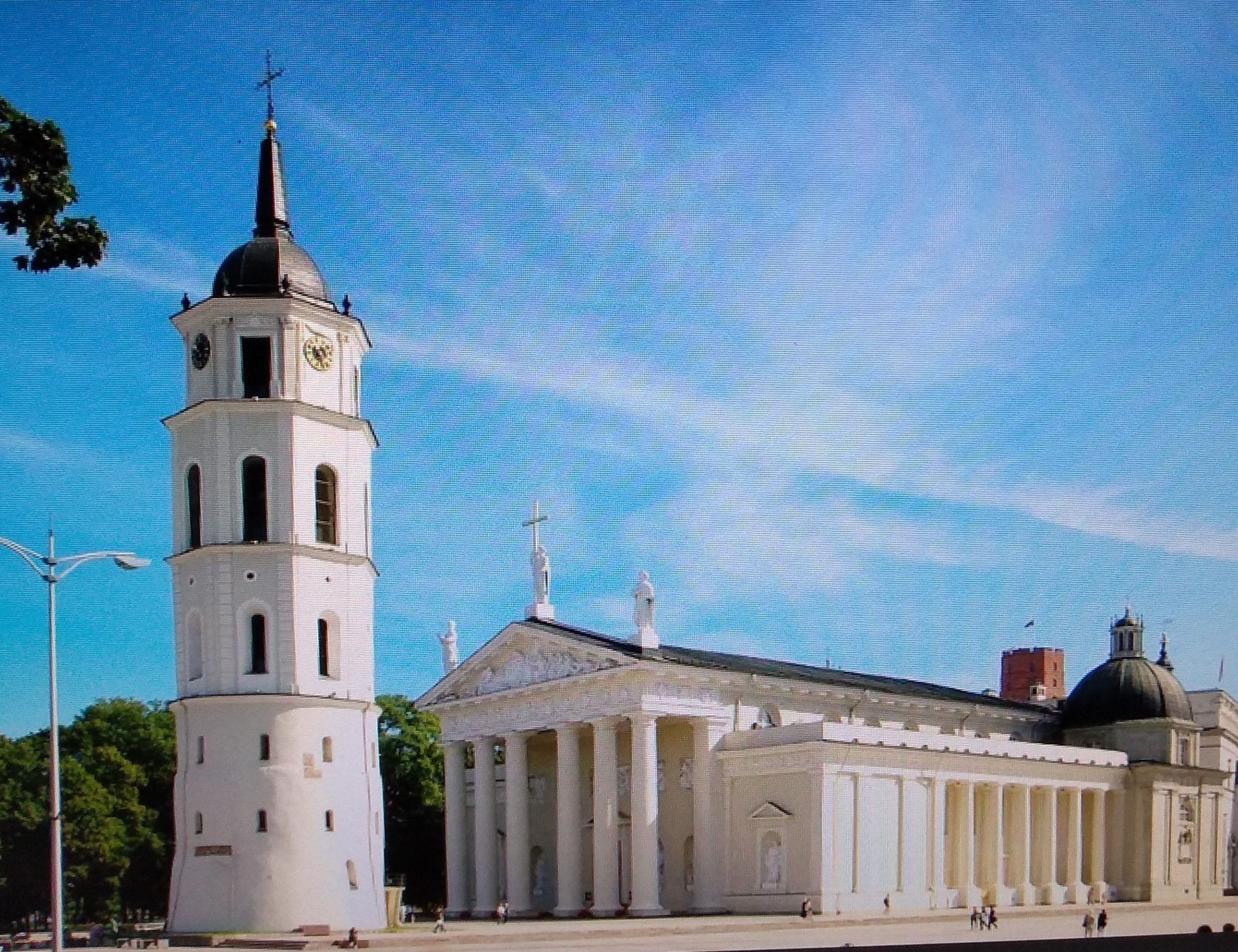 Kathedrale und Turm in Vilnius
